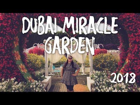 MIRACLE GARDEN DUBAI 2018 & YELLOW BOAT TOUR - DUBAI VLOG
