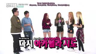 [ENG SUB] 161115 BLACKPINK Weekly Idol Preview 2: Acapella