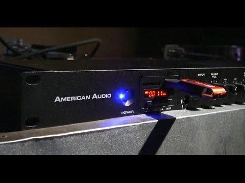 NEW American Audio Media Operator BT - BSR's Demo