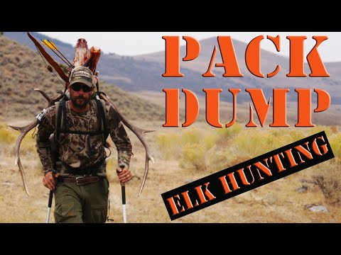 What's In My ELK HUNTING Day Pack?