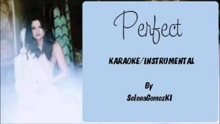 Selena Gomez - Perfect Karaoke / Instrumental with lyrics on screen