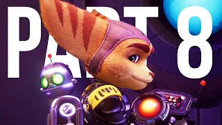 RATCHET AND CLANK RIFT APART Gameplay Walkthrough Part 8 - TOGETHER