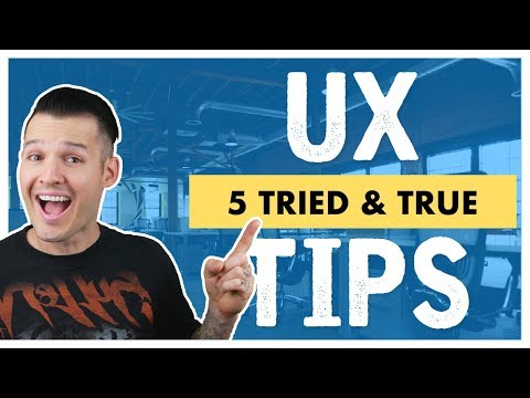 5 UX Design Tips & Techniques | UX Design Basics