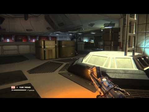 Alien: Isolation - The Trap: Reset 2nd Power Breaker (Lower Level of Map) Initialize Droid, Gameplay