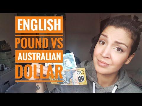 English Pound Vs Australian Dollar