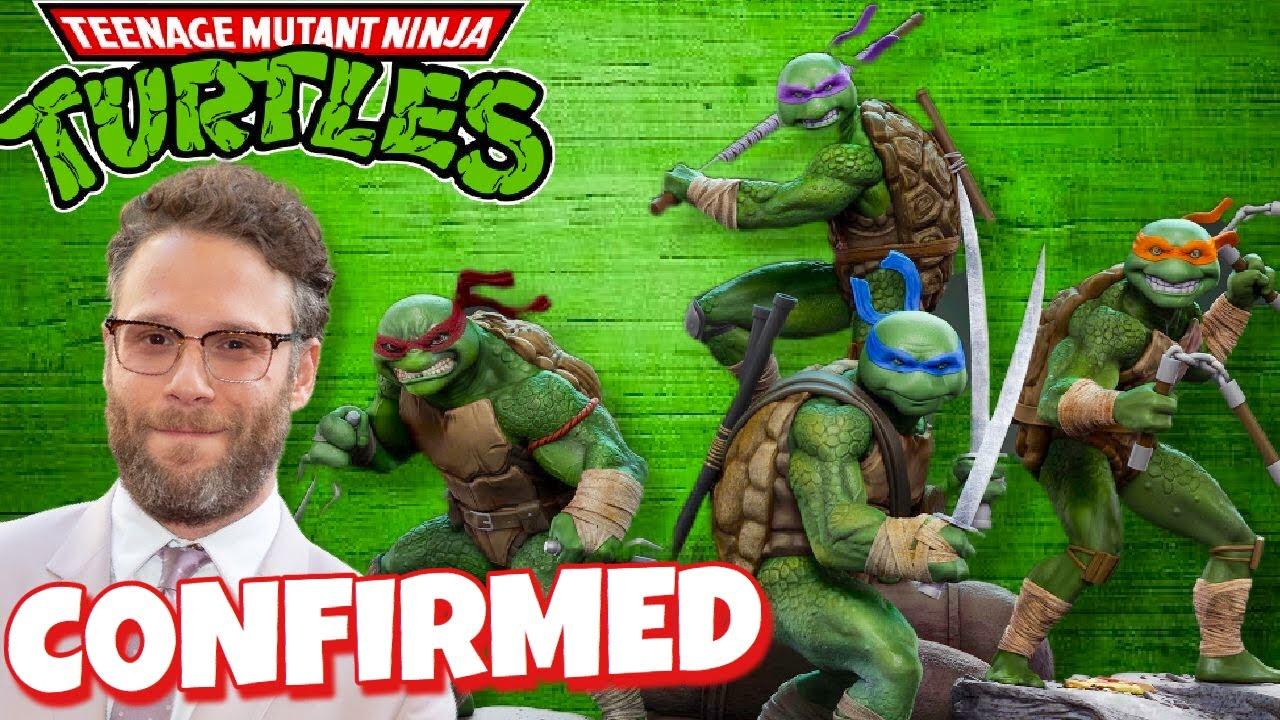 NEW Teenage Mutant Ninja Turtles Movie Reboot With Seth Rogen!