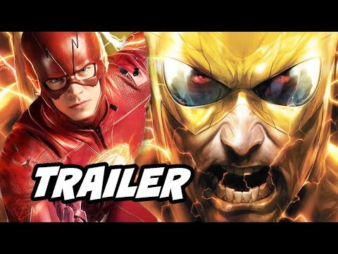The Flash Crossover Reverse Flash Deleted Scene Easter Eggs