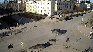 Stupid Russian spectacular crashes Part  74 Russian accidents english ...
