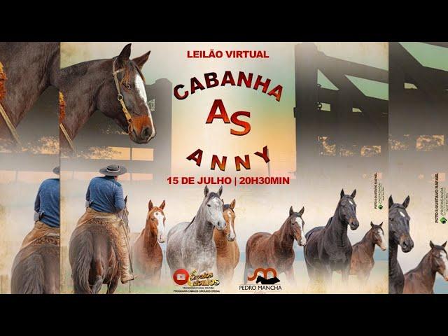 LEILÃO VIRTUAL CABANHA AS ANNY