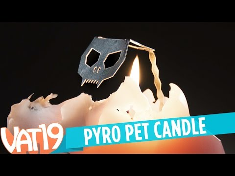 PyroPet: Candle with a Skeleton