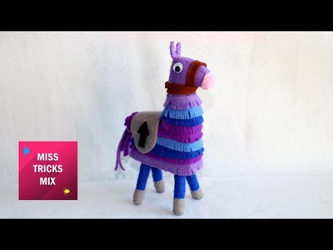 Fortnite Llama Plushie Step By Step DIY / Sewing Crafts.