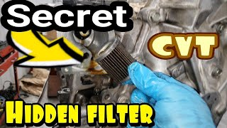 Doing this will make your Transmission last twice as long. How to replace a burnt overheated CVT.