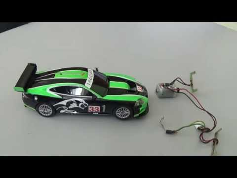 Scalextric Tutorial: Changing a motor.