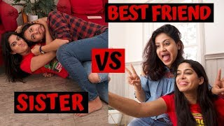Sister Vs Best Friend Feat.Rickshawali // Captain Nick