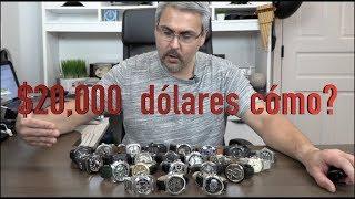 Mas de $20,000 dólares en relojes de lujo, cómo lo conseguí?