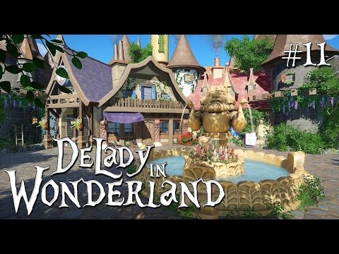 11. Planet Coaster: DeLady in Wonderland (ft. SPRidley) - Fairytale shopping area