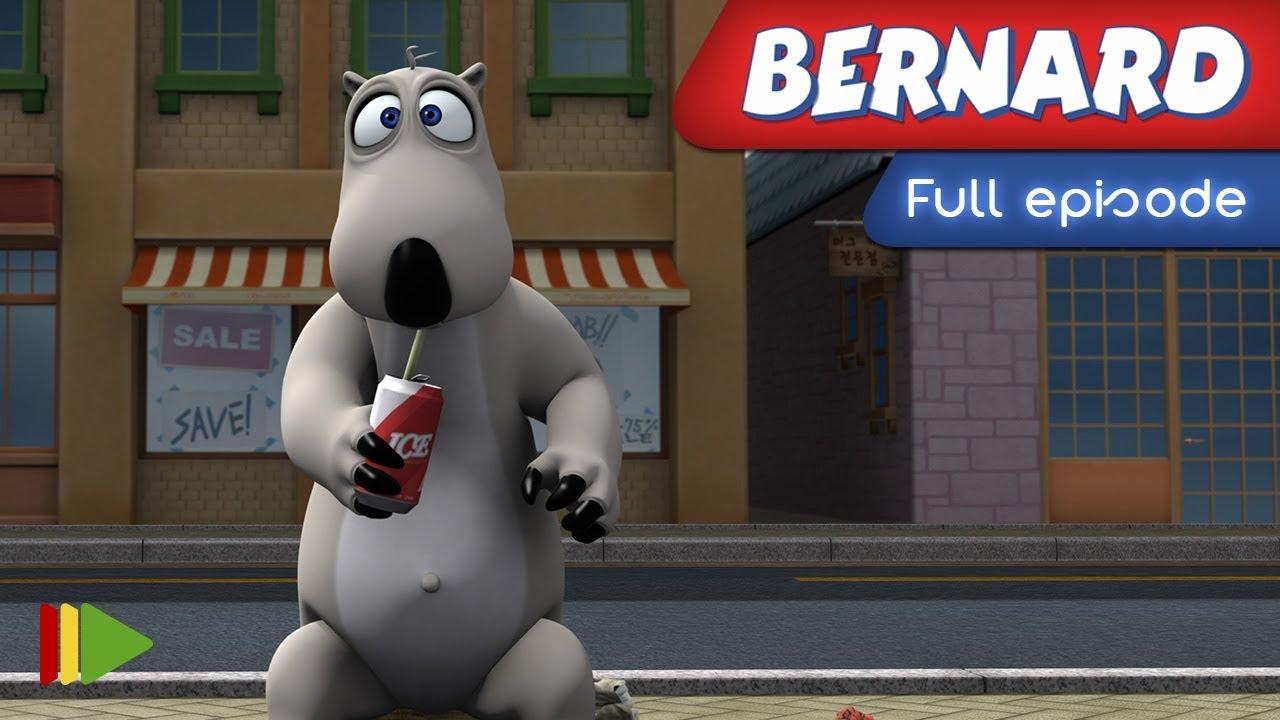 Gambar Mewarnai Bernard Bear - Gambar Mewarnai Terbaik