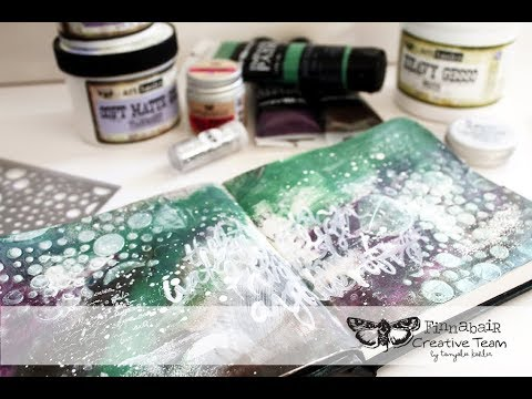 Art Journal Spread by Tanyalee Kahler