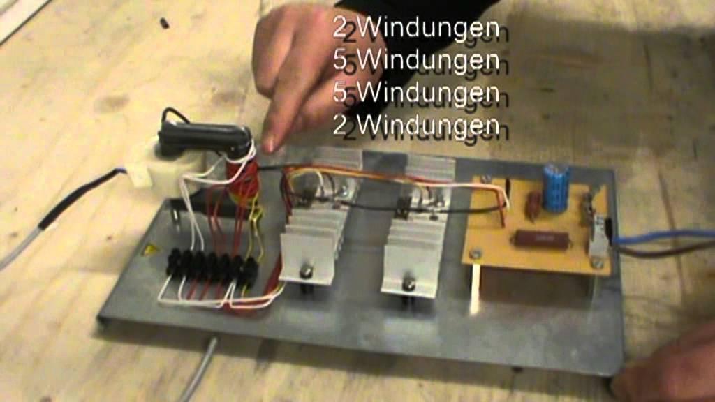 Solide State Generator (Mini Teslagenerator) Funktion + Schaltung ...