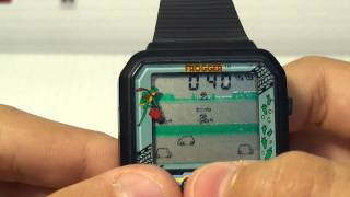 Frogger Video Game Wrist Watch by Nelsonic
