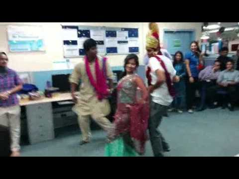 Comedy Act on Sita ka swayamvar at genpact westpac BT Team