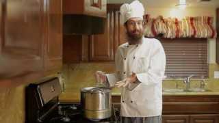 Matzah Ball Soup (In a hurry)
