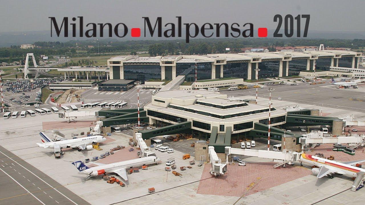 Milano Malpensa International Airport June 2017 - YouTube
