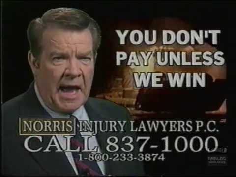Norris Injury Lawyers PC | Television Commercial | 2001