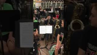 8th Grade Saxophonist Plays Flight of the Bumblebee Perfectly
