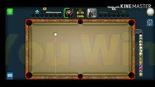 Baby boss trick shot kiss shot Walid vs Wasayo YT 8bp