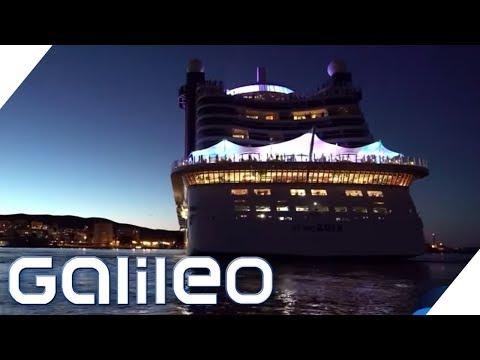 Hinter den Kulissen eines Kreuzfahrtschiffs   Galileo   ProSieben