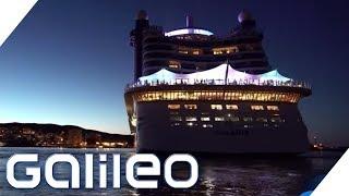 Hinter den Kulissen eines Kreuzfahrtschiffs | Galileo | ProSieben