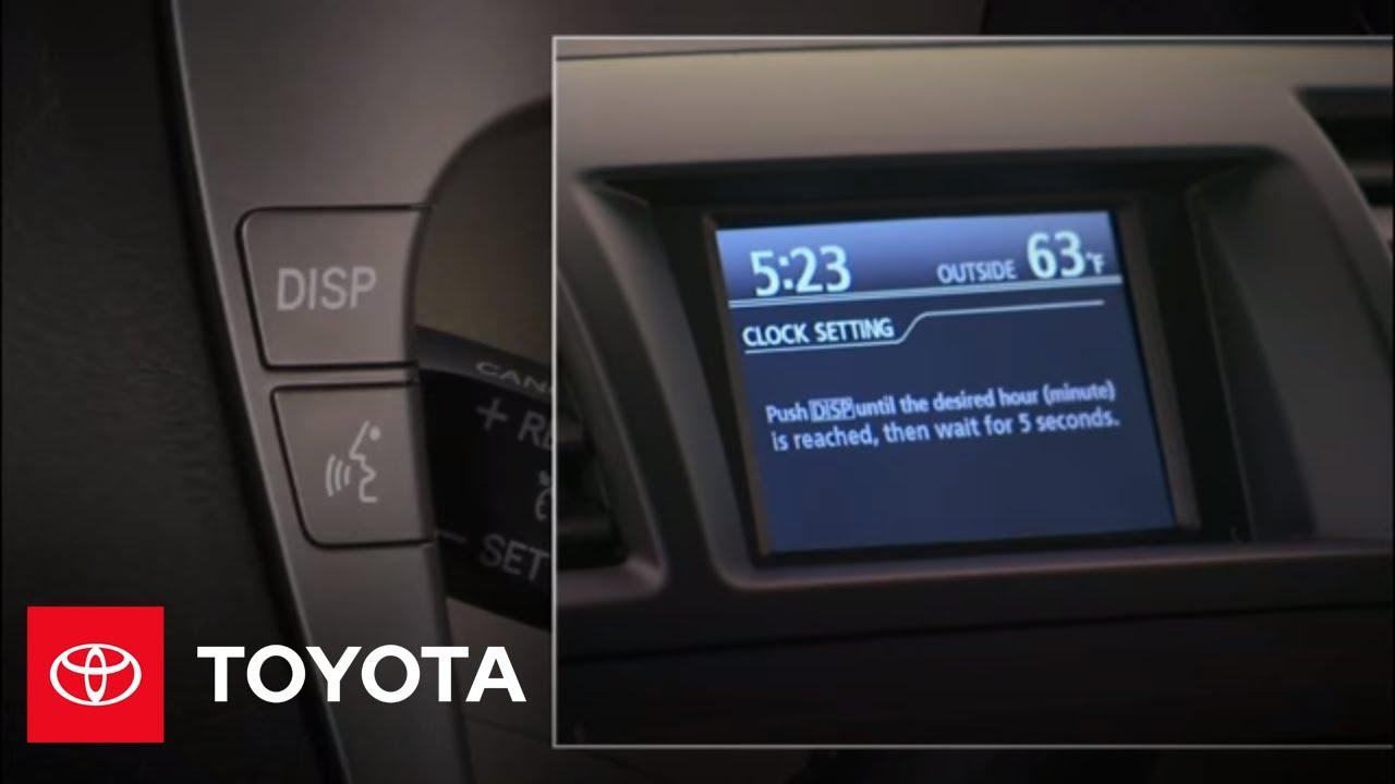 Toyota Highlander Owners Manual: Adjusting the set speed