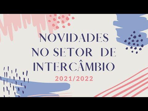 NOVIDADES NO SETOR DE INTERCÂMBIO PARA 2021/2022