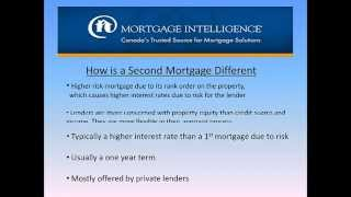 Second Mortgages in Toronto  - Refinance Using Home Equity