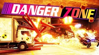 Crash All the Cars! - Danger Zone Gameplay - Car Destruction Game