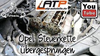 Anleitung z22se steuerkette wechseln Alfa 159