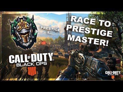 Call Of Duty Black Ops 4 LIVE! -  Master Prestige Race - Cod Bo4 -   BO4 Multiplayer LIVE NOW!