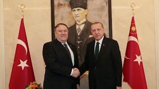 بعد محادثات مع السعوديين بومبيو يلتقي إردوغان وأوغلو بشأن اختفاء خاشقجي…