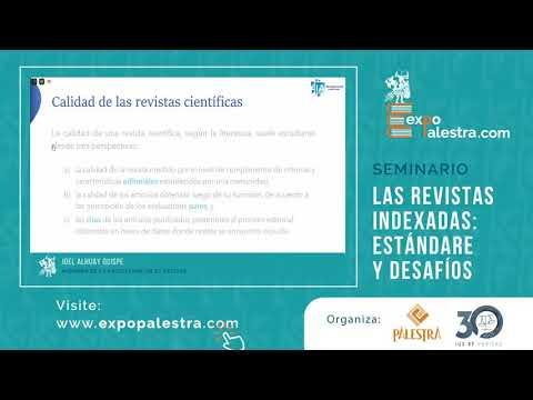 """Seminario """"Las revistas indexadas: estándares y desafíos"""""""