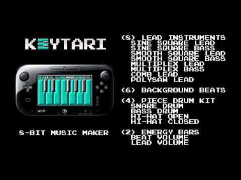 KEYTARI: 8-bit Music Maker trailer