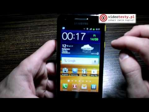 Samsung Galaxy Beam #1 - recenzja videotesty.pl