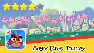 Angry Birds Journey 44-45 Walkthrough Fling Birds Solve Puzzles Recommend index four stars