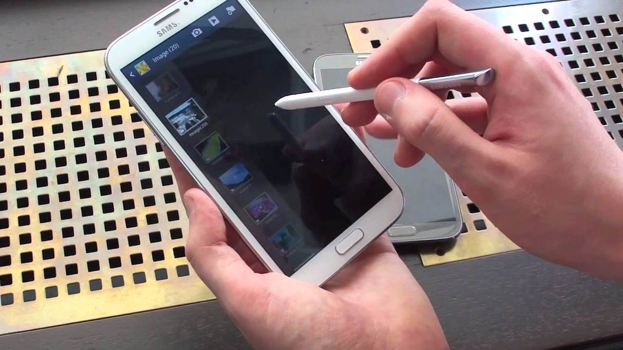 Samsung galaxy note 2 hands on youtube ccuart Image collections