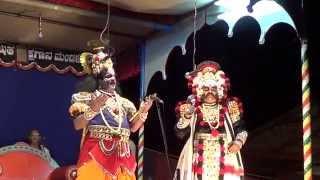 Yakshagana -- Siddakatte and Permude - at Manya