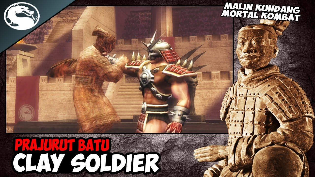 PRAJURIT BATU CLAY SOLDIER Melawan Semua BOSS !! - Mortal Kombat Shaolin Monks PS2
