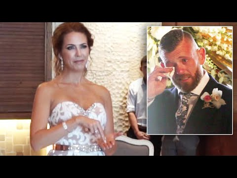 Deaf Man Bursts Into Tears When Bride-To-Be Signs Wedding Song