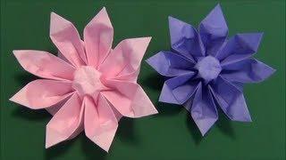 Repeat youtube video 花「ガーベラ」折り紙3 flower