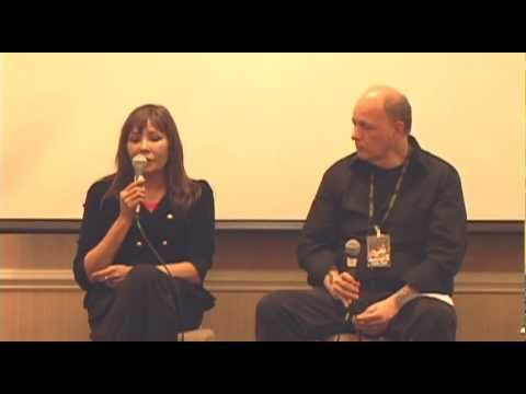 Barbara Carrera speaks at Chiller Theatre Expo, Oct. 2012