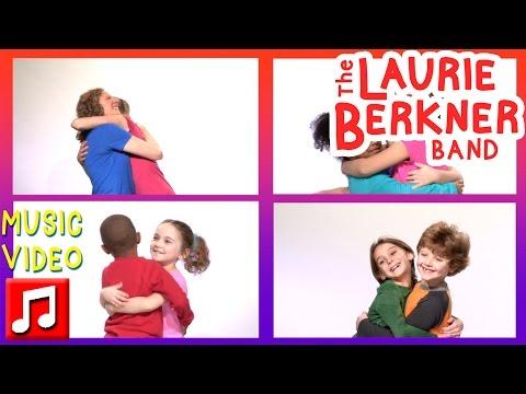 "Best Kids Songs - ""Open Your Heart"" By Laurie Berkner W/ Kira Willey, Musical Yogini"